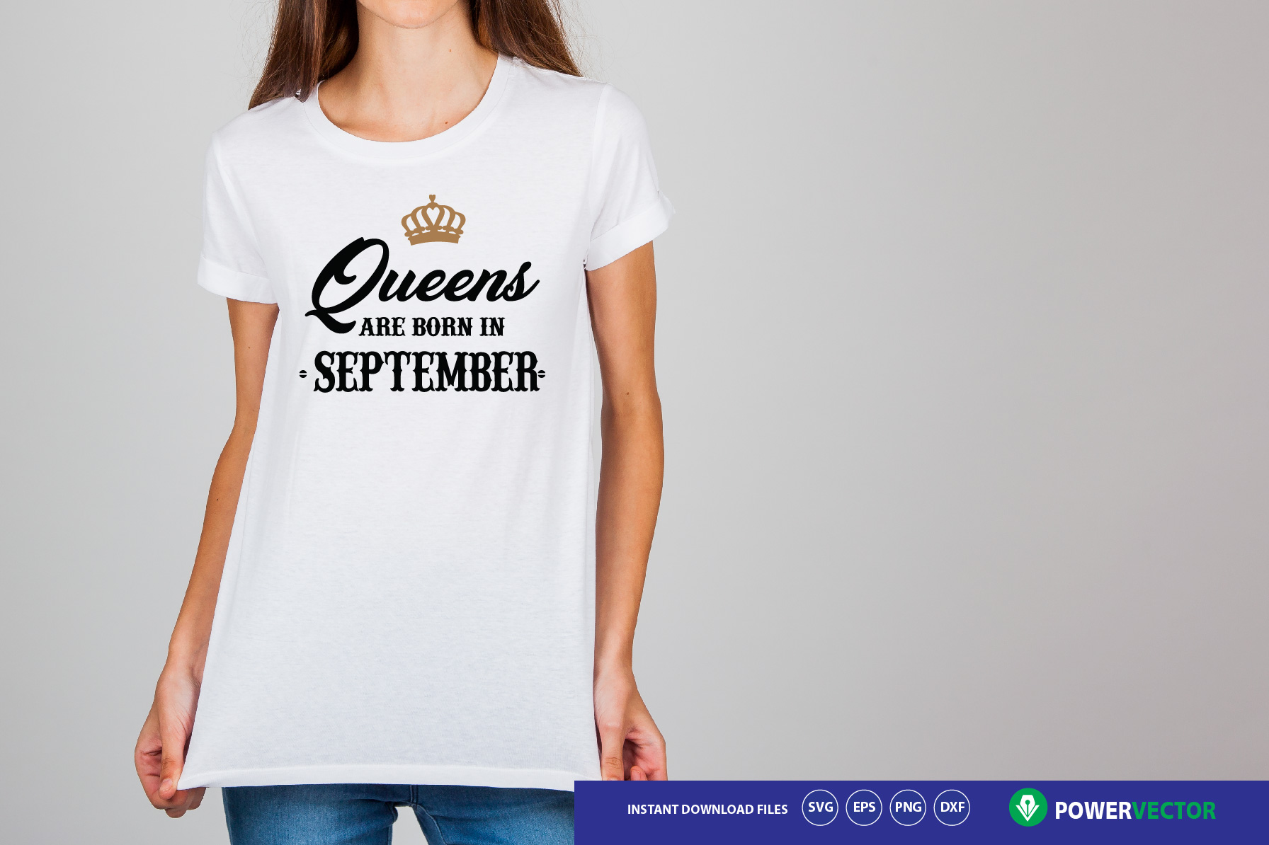 Queens are Born svg bundle. Queens are born in months svg example image 2