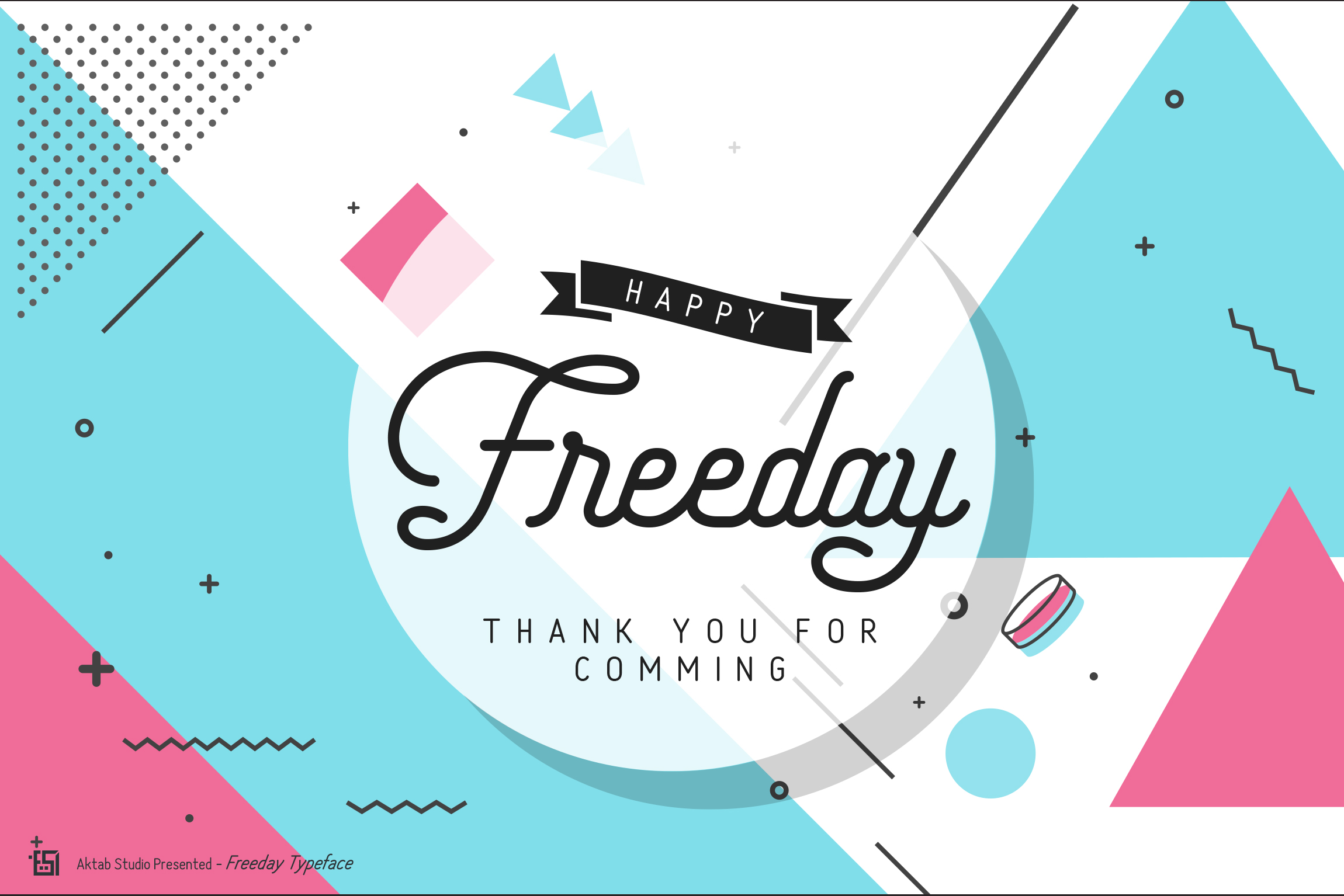 Freeday Script & Sans Font example image 10