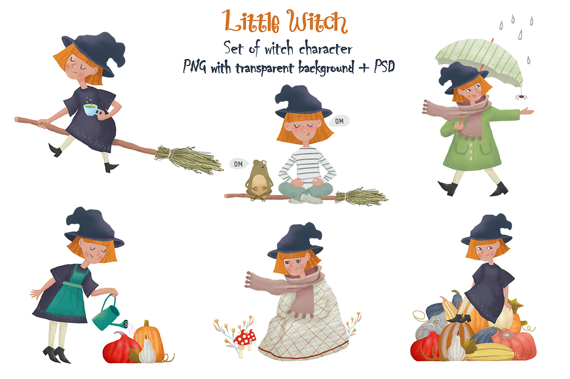 Little Witch collection example image 2