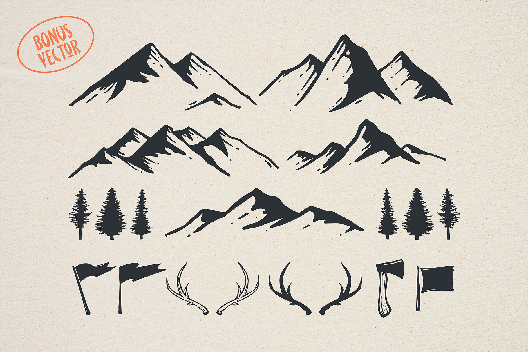 Pine Forest - Outdoor Typeface example image 7