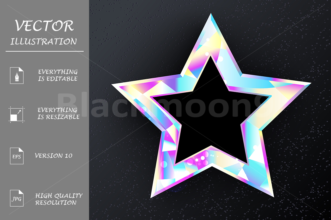 Holographic Star example image 1