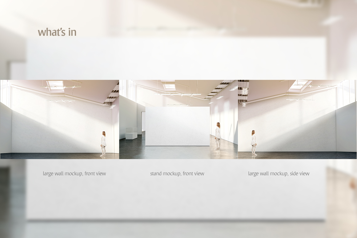 Gallery Wall Mockup example image 3