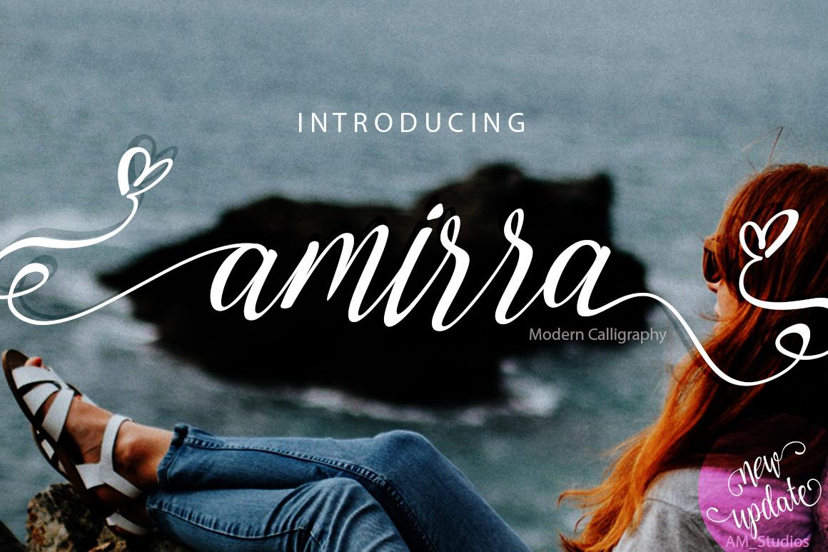 Amirra Script example image 1