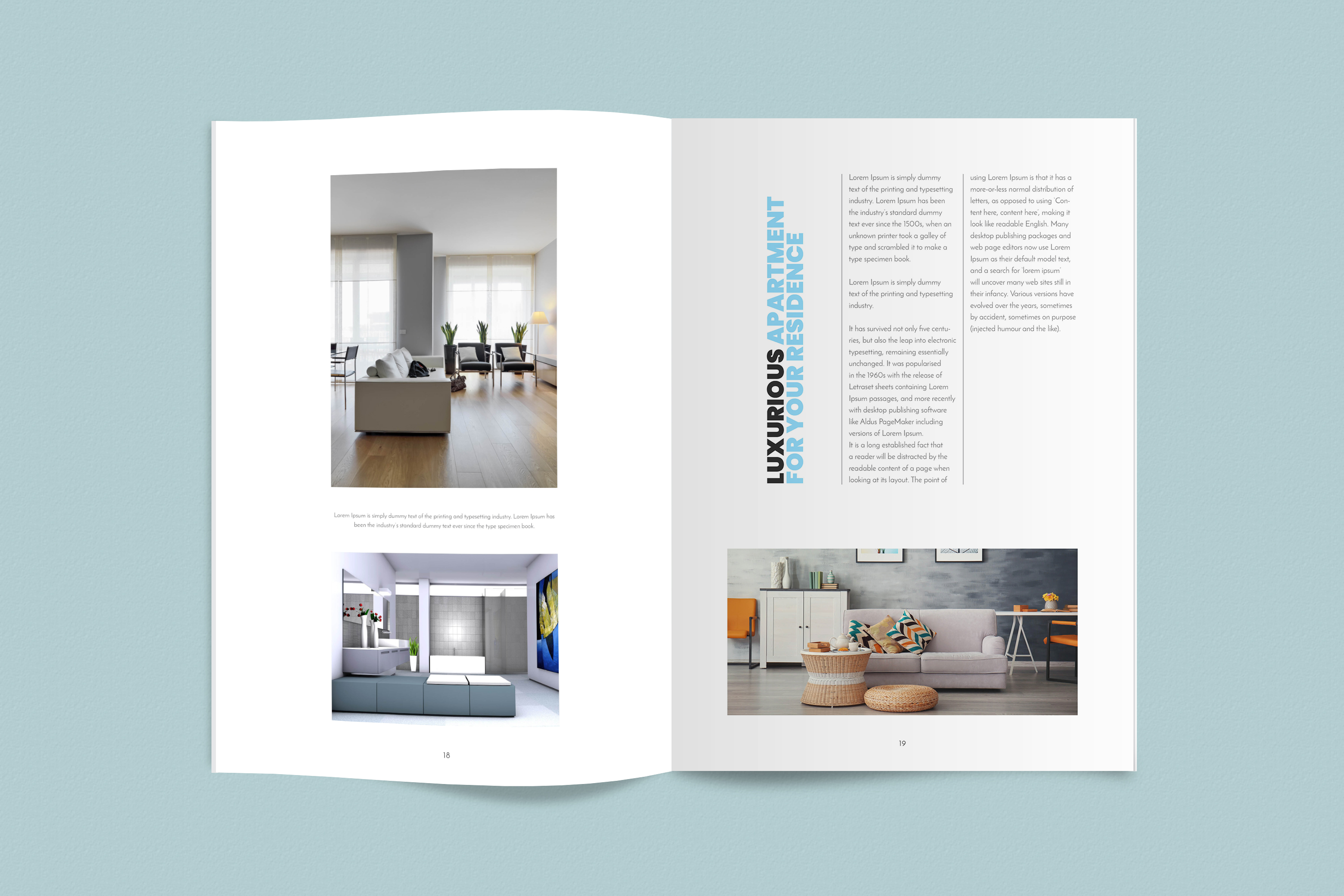 InDesign NANO Magazine Template example image 10