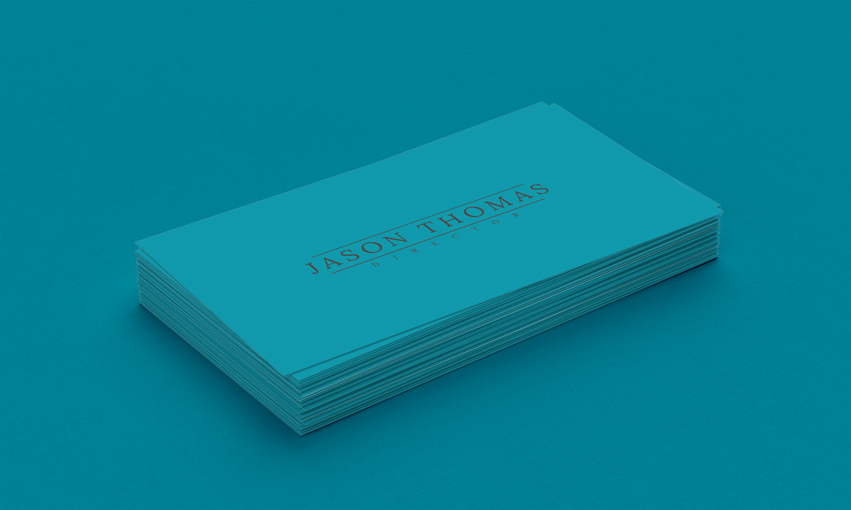 Bright Colour Beautiful Elegant Business Card 5 example image 3