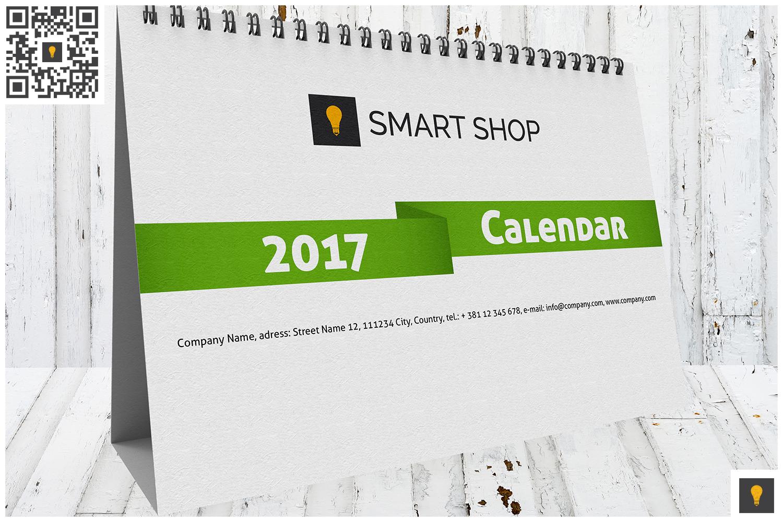 2017 Desktop Calendar example image 8