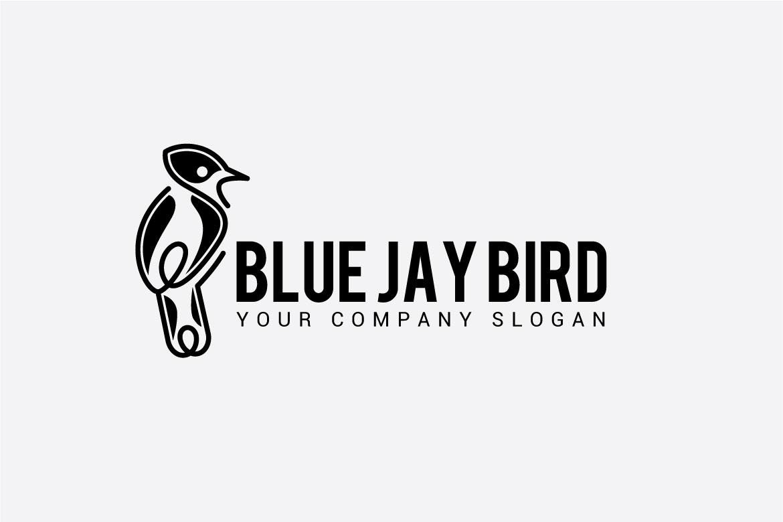 BLUE JAY BIRD LOGO example image 2