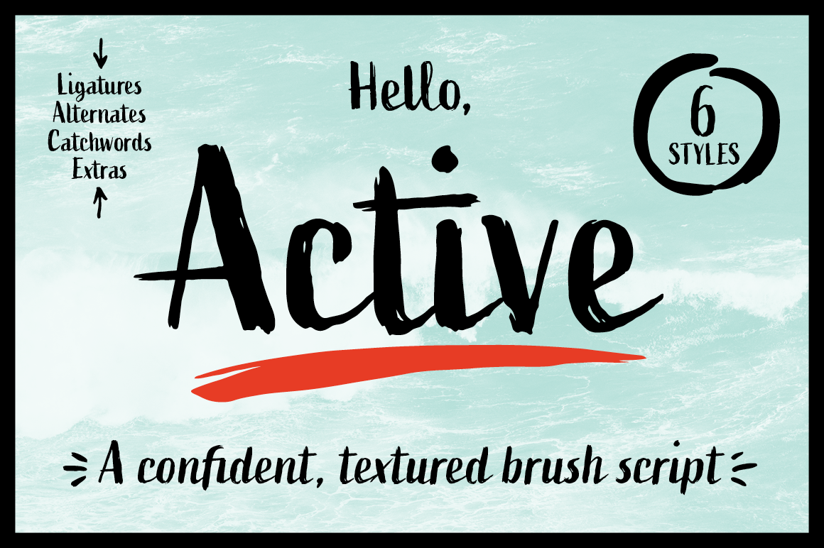 Active Font Family example image 1