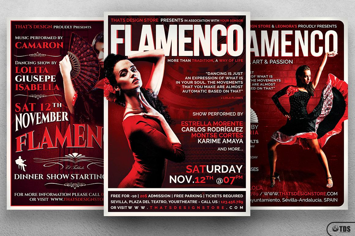 Flamenco Flyer Bundle V1 example image 2
