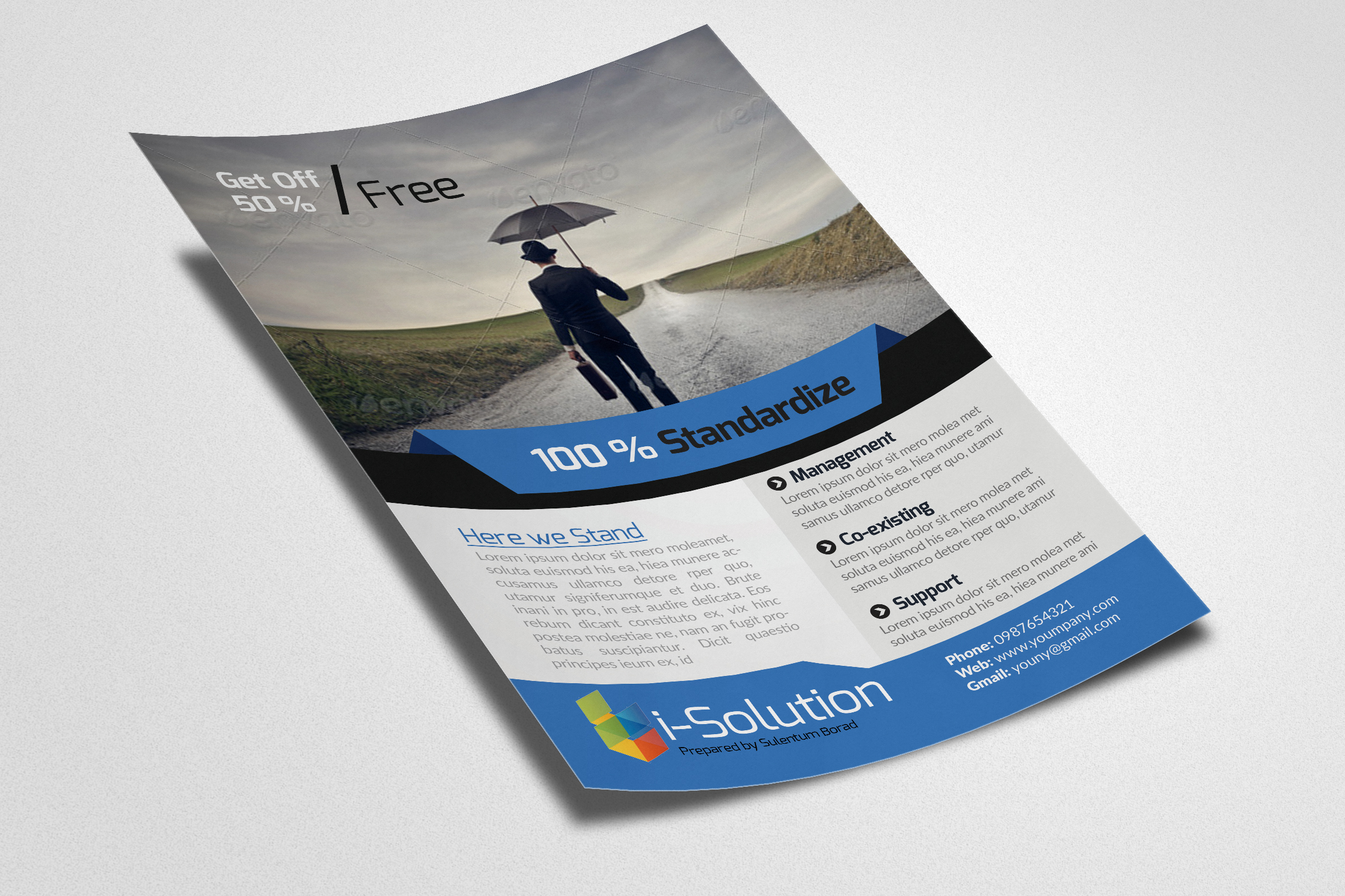 Business Finance Provider Firm Flyer example image 2