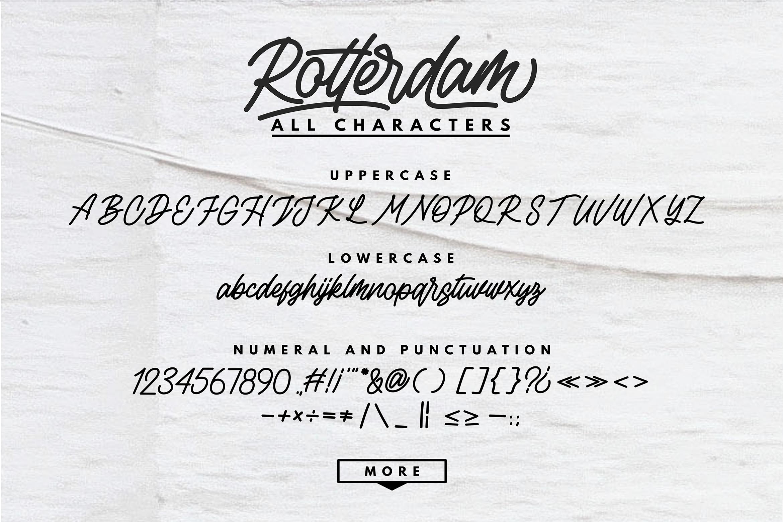 Rottordam - Regular, Thin, and Bold example image 13
