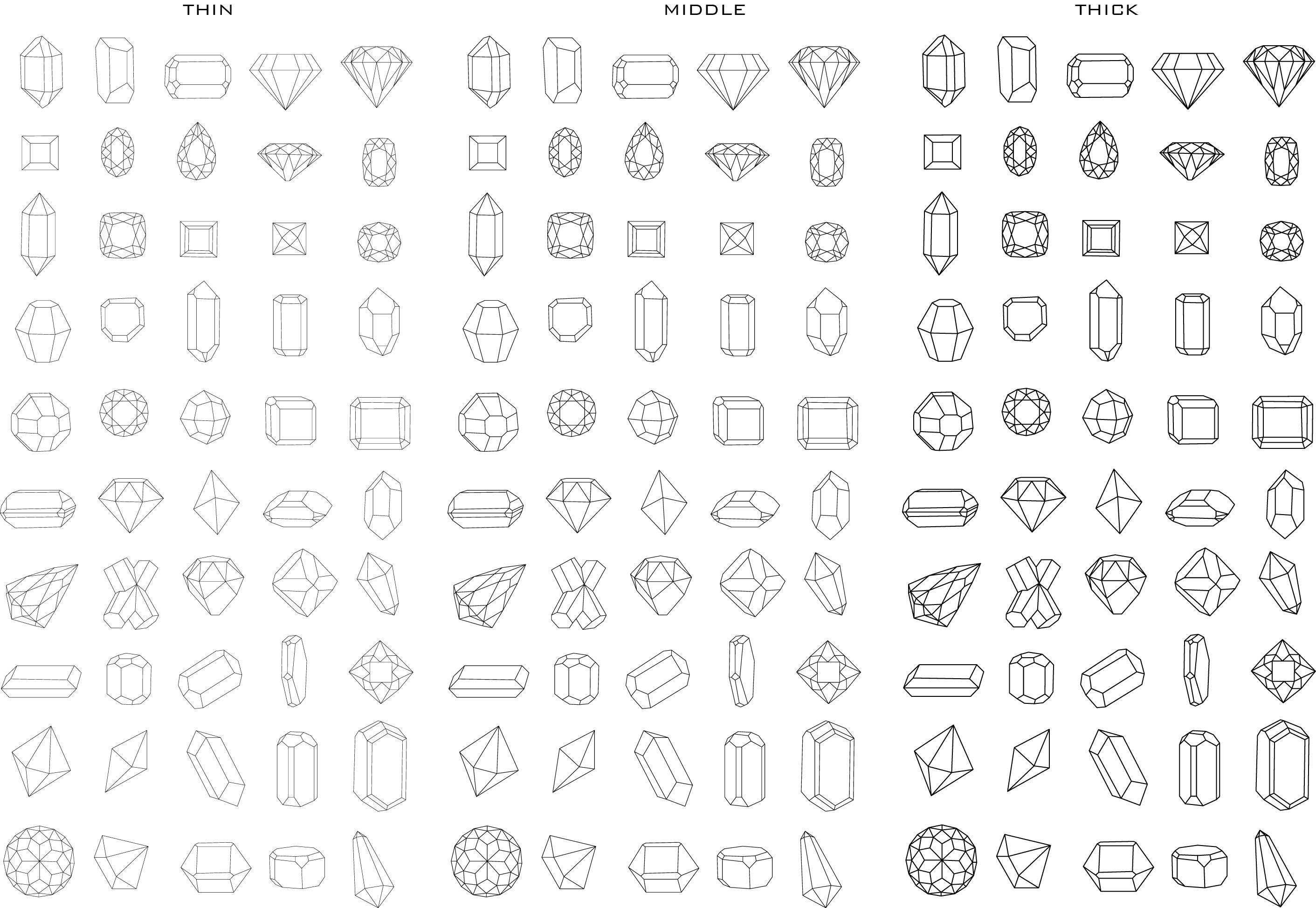 100 Geometric elements + bonus! example image 8