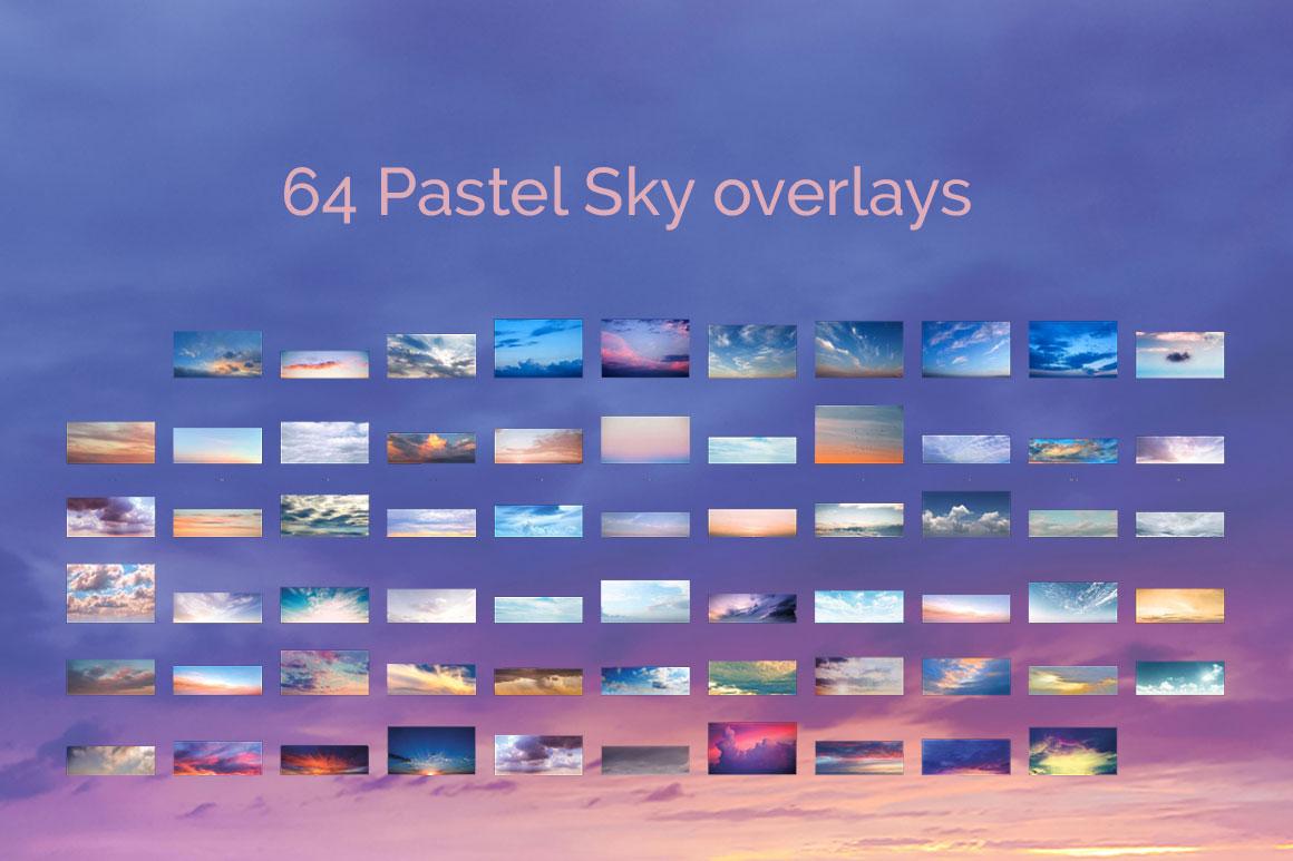 317 Sky Overlays BUNDLE example image 5