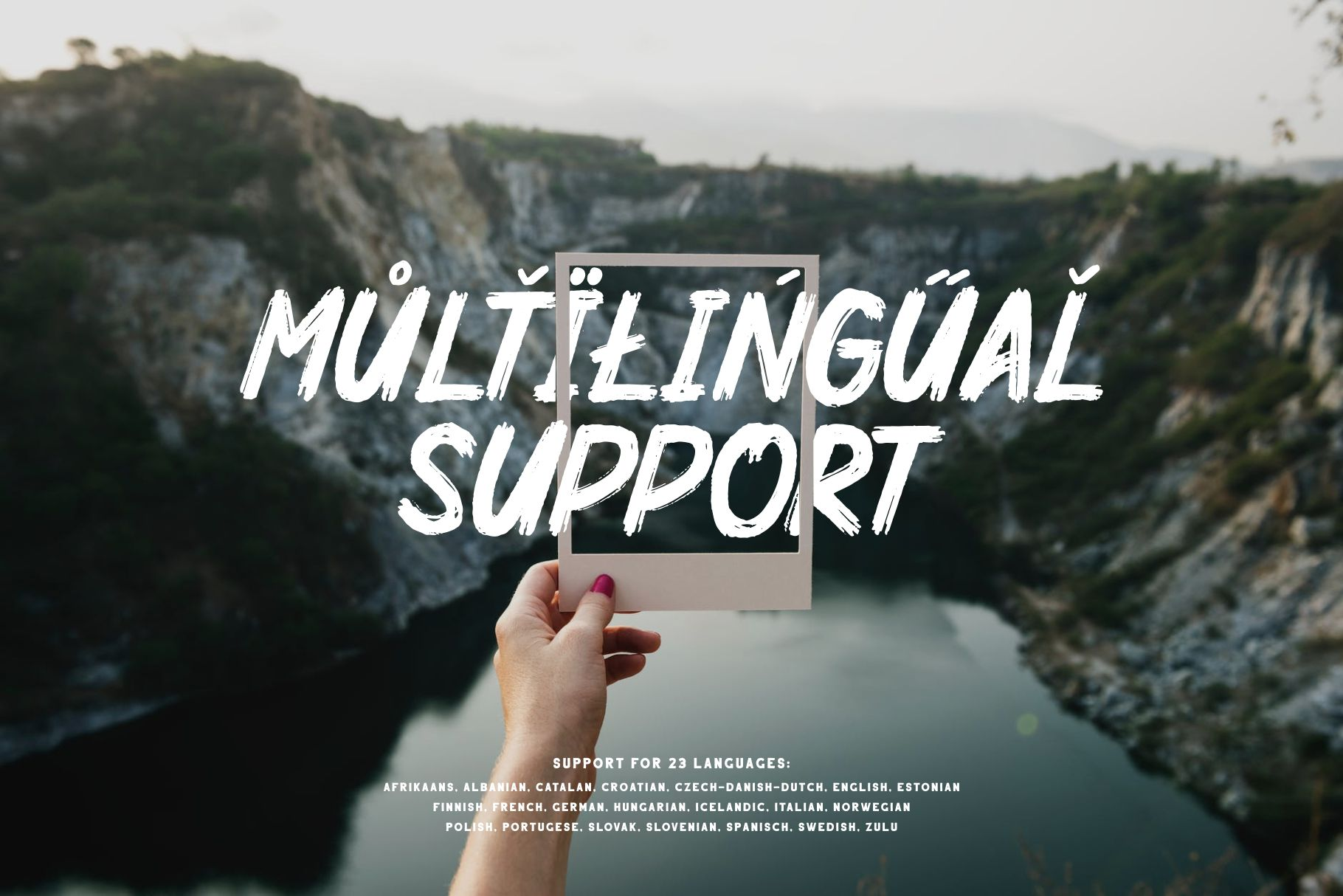 Mighty Brush Font example image 9