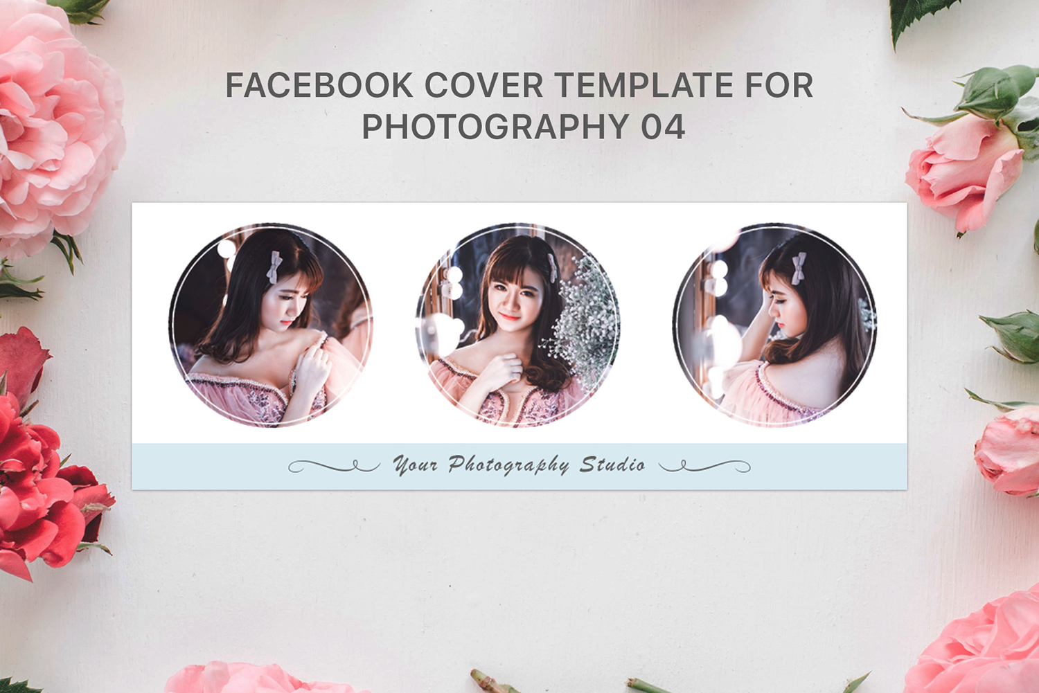 Facebook Cover Template For Photography 04