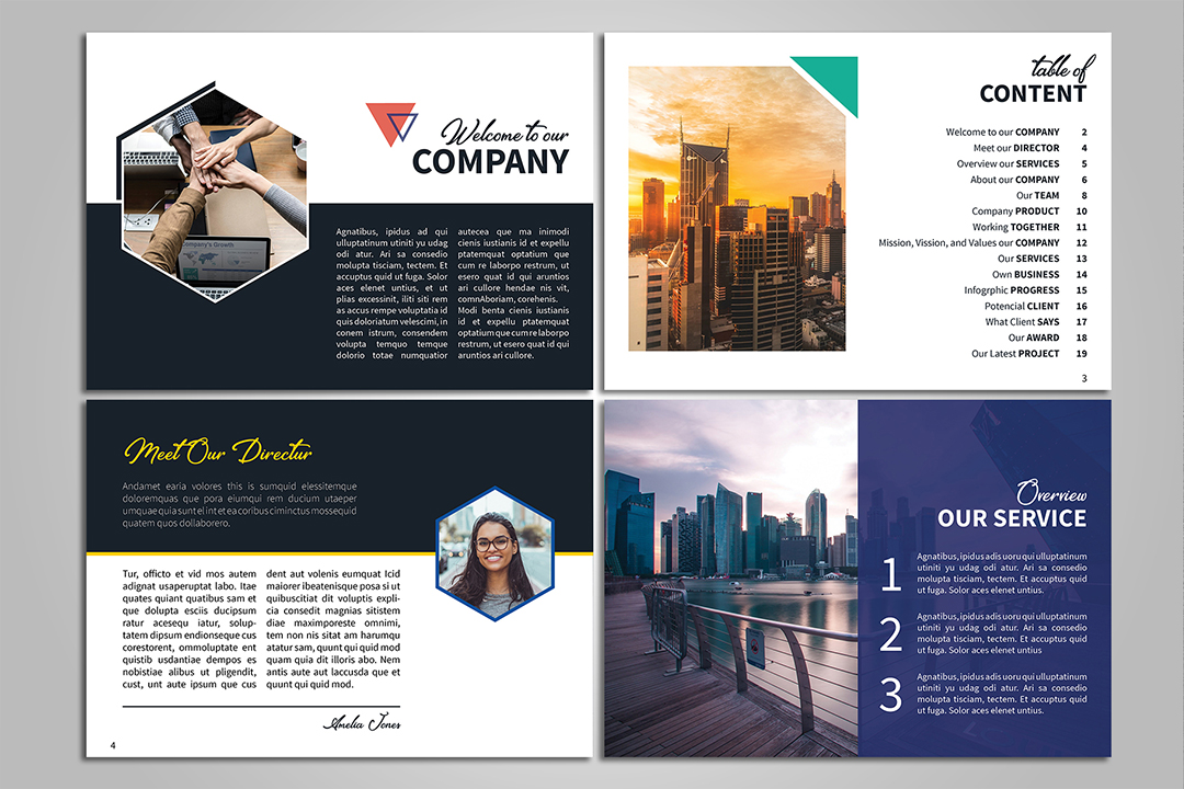 A5 Creative Brochure example image 3
