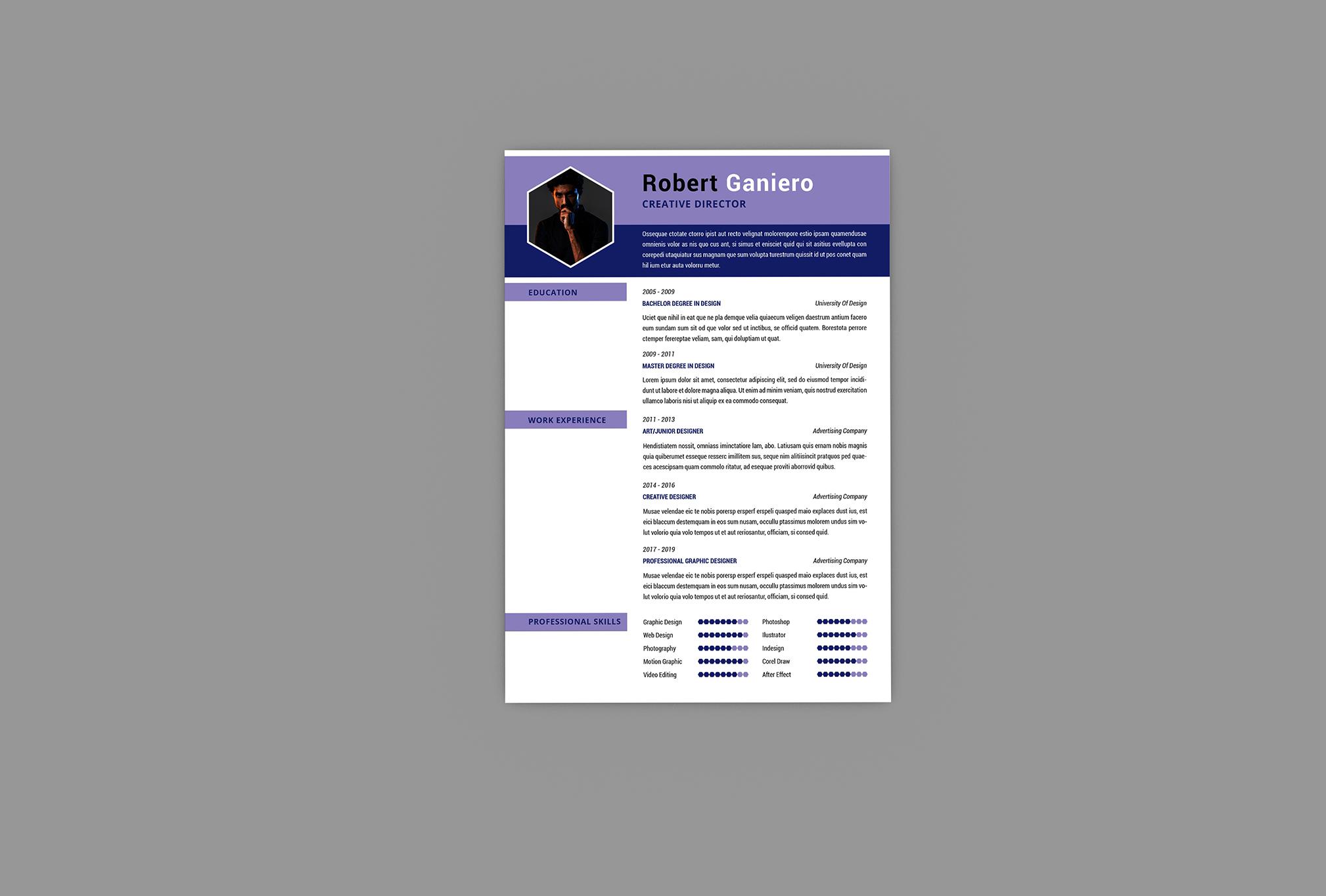 CV Combo Resume Designer