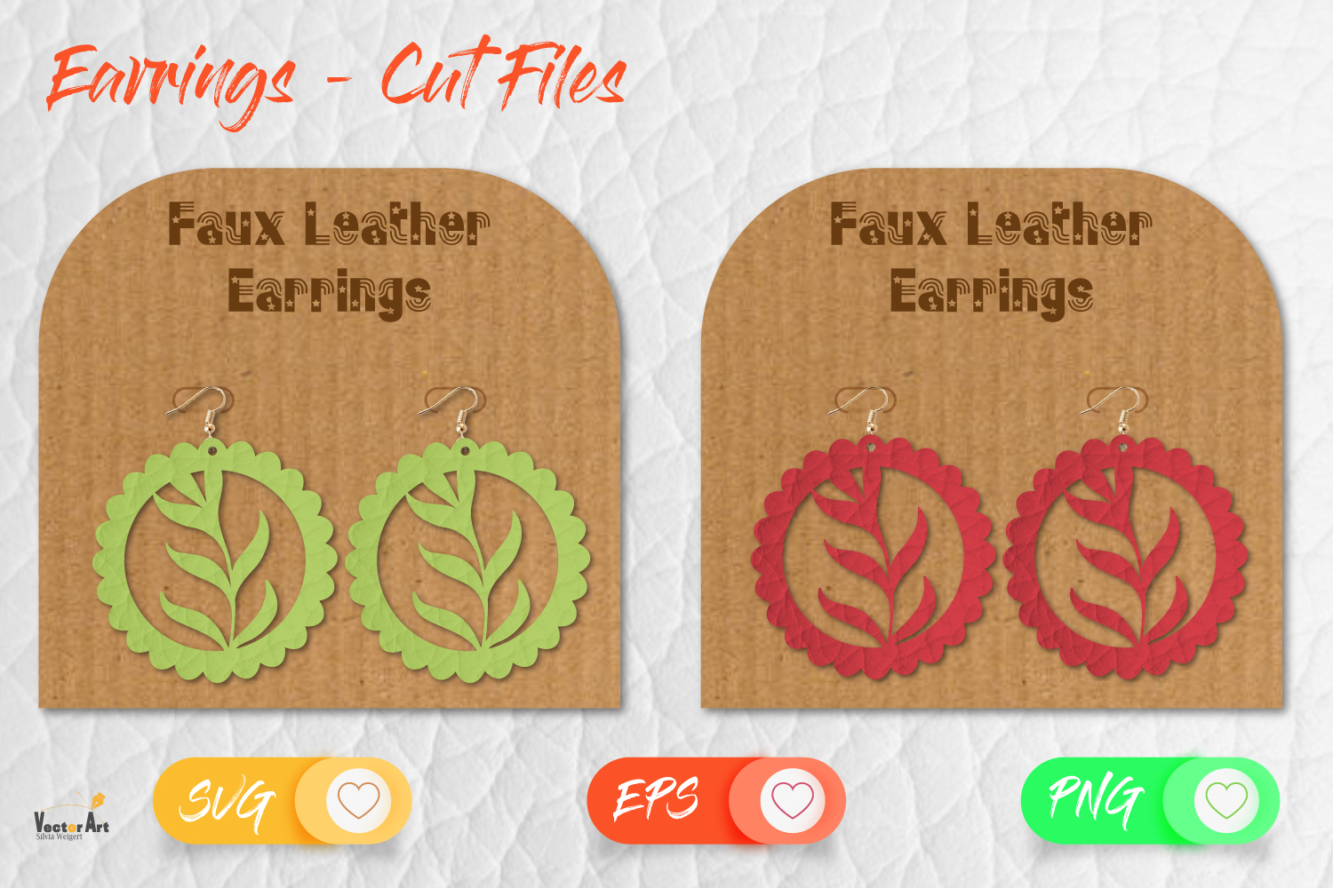 5 Earrings - Mini Bundle - Cut files example image 16