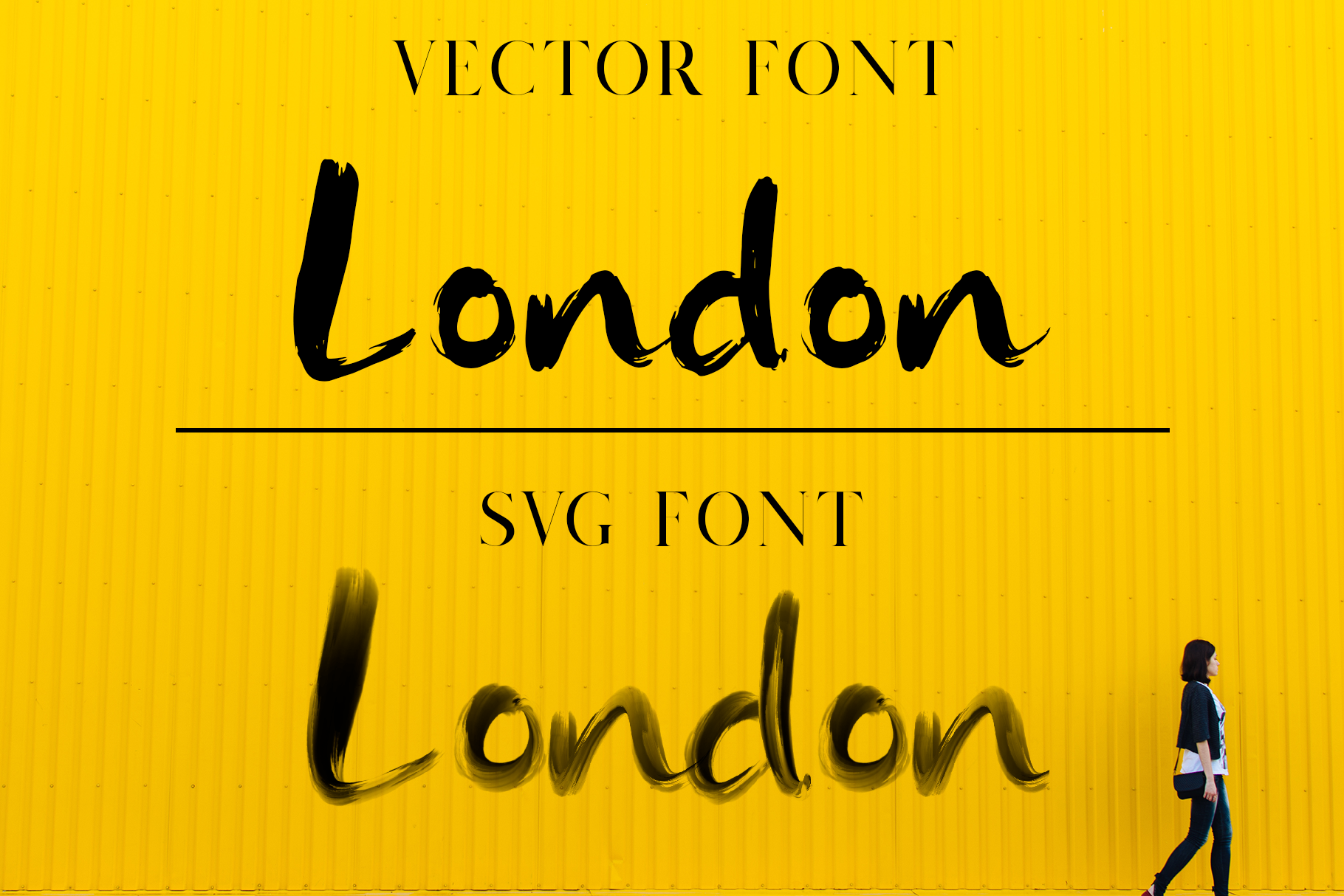 Rainly - Brush & SVG Font example image 9