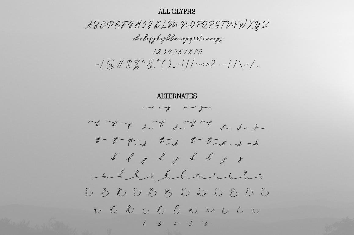 Ranuella Script example image 8