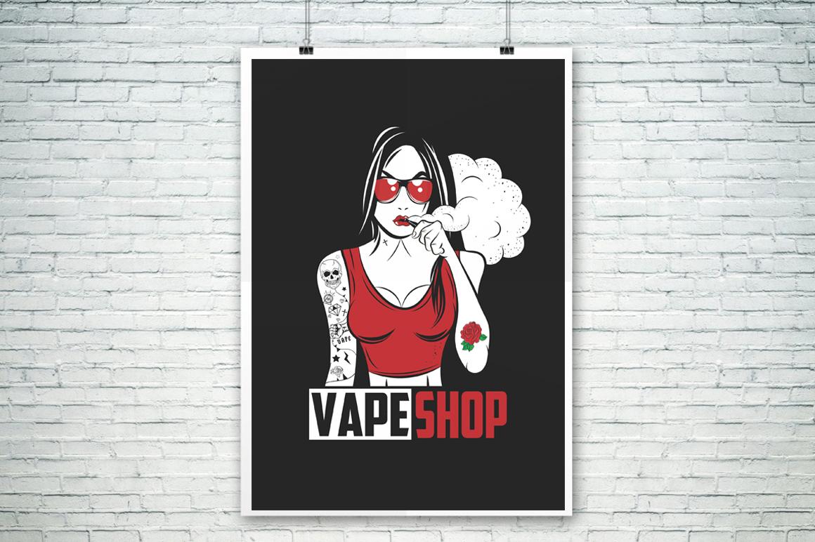 Vape Girl example image 4