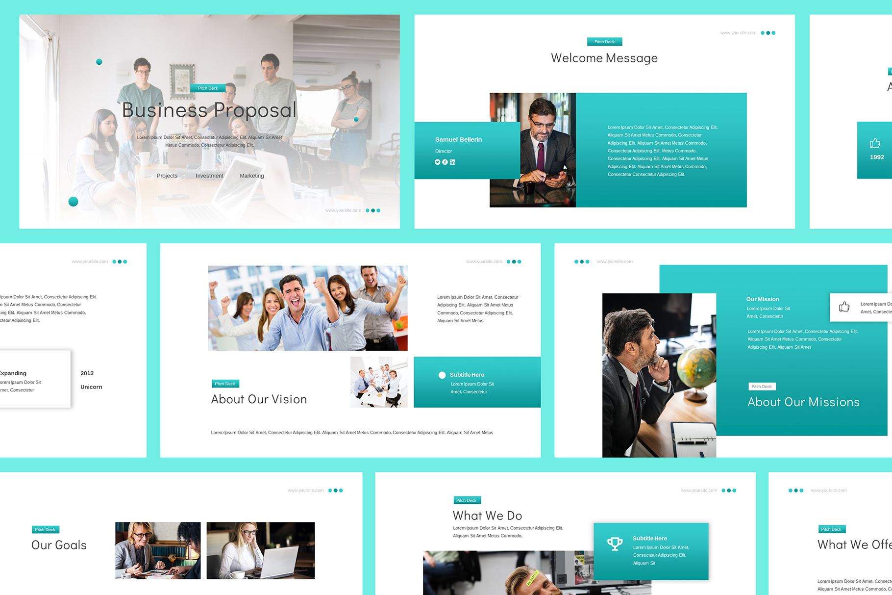 Business Proposal Google Slides example image 2
