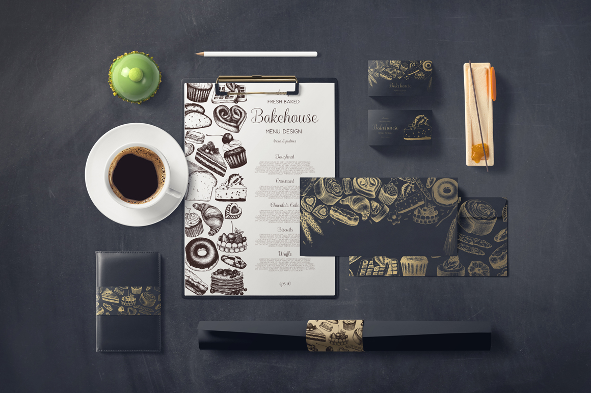 Bakery Menu Design example image 5