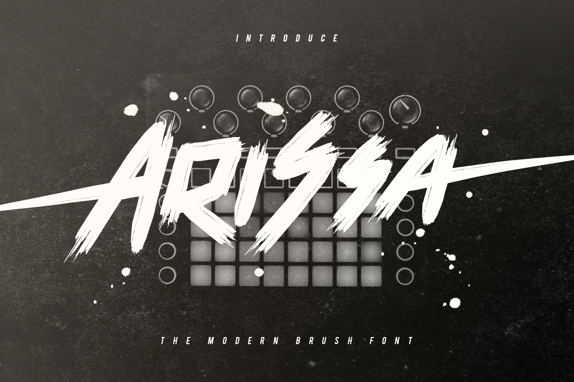 Arissa Typeface example image 1