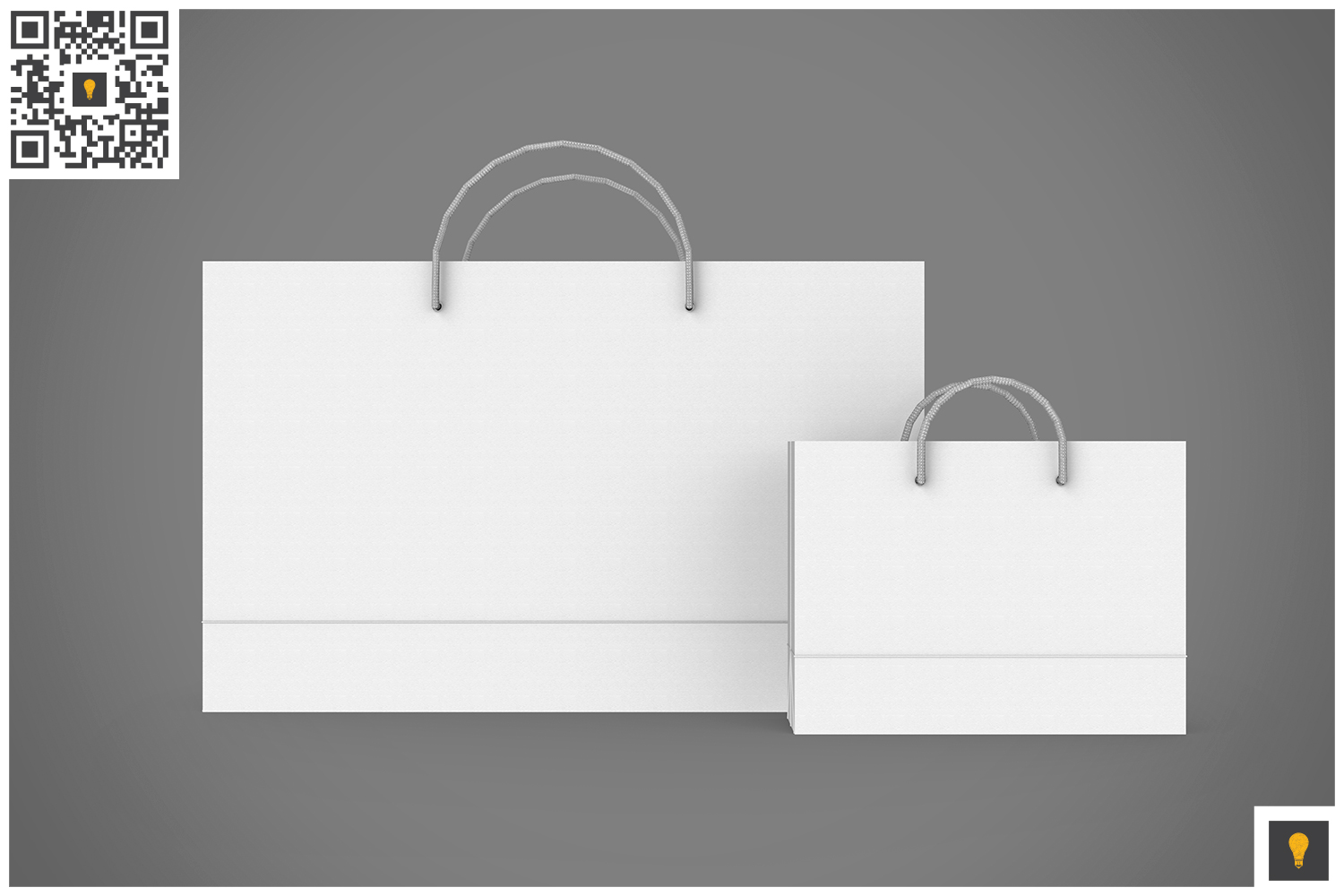 Shopping Bag 3D Render example image 11