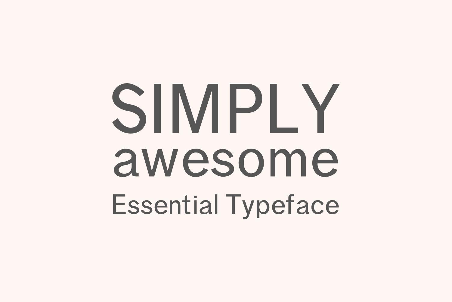 Effren An Essential Sans Serif Font example image 3