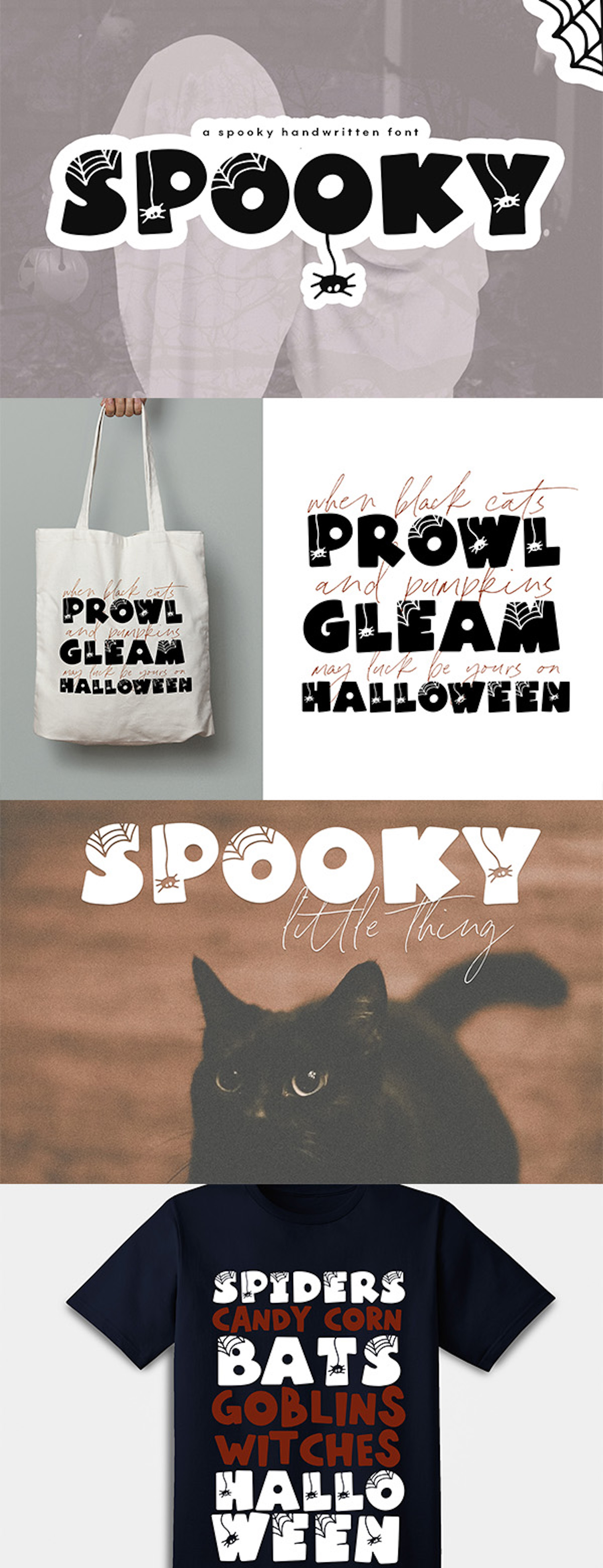Spooky - A Quirky Halloween Font example image 2