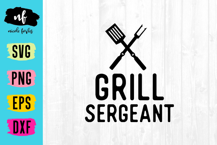 Grill Sergeant SVG Cut File example image 1