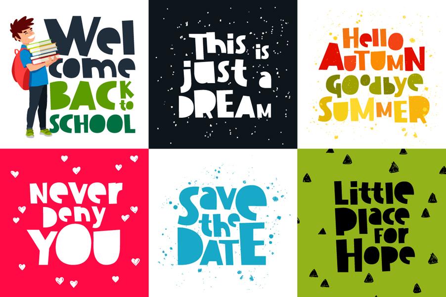 Dissentio Typeface example image 4