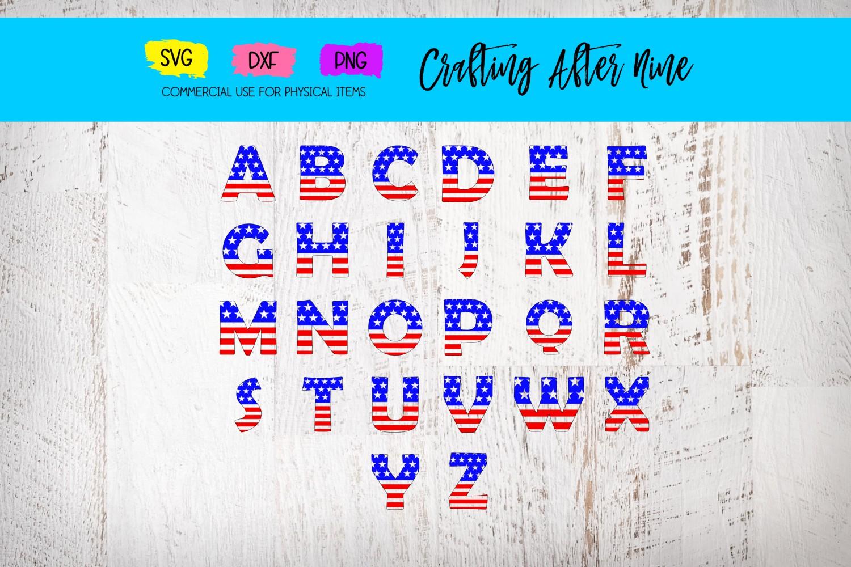 Split Alpahbet Monogram Font Svg, Monogram Letter example image 1