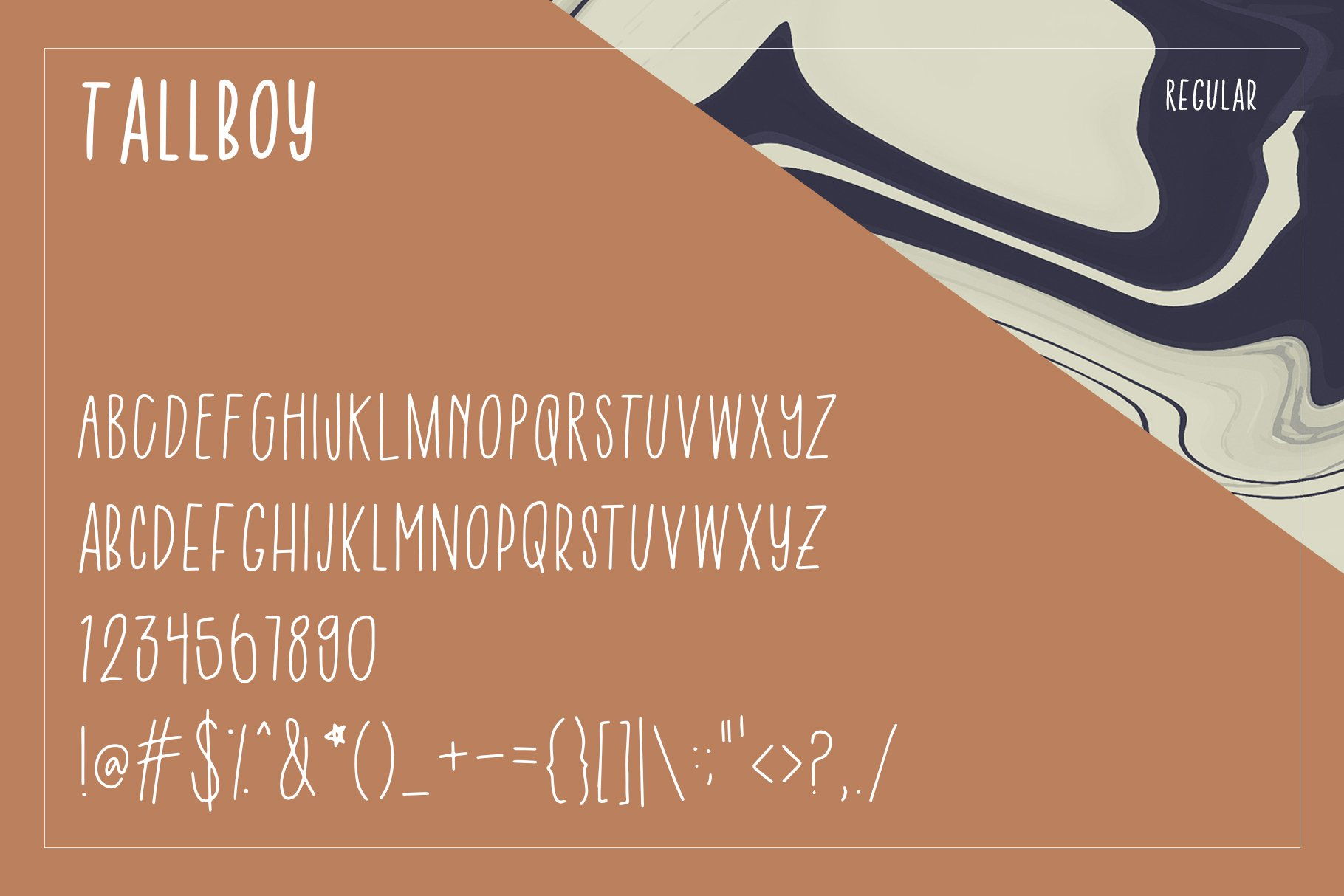 Tall Boy | Handwriting Font example image 4