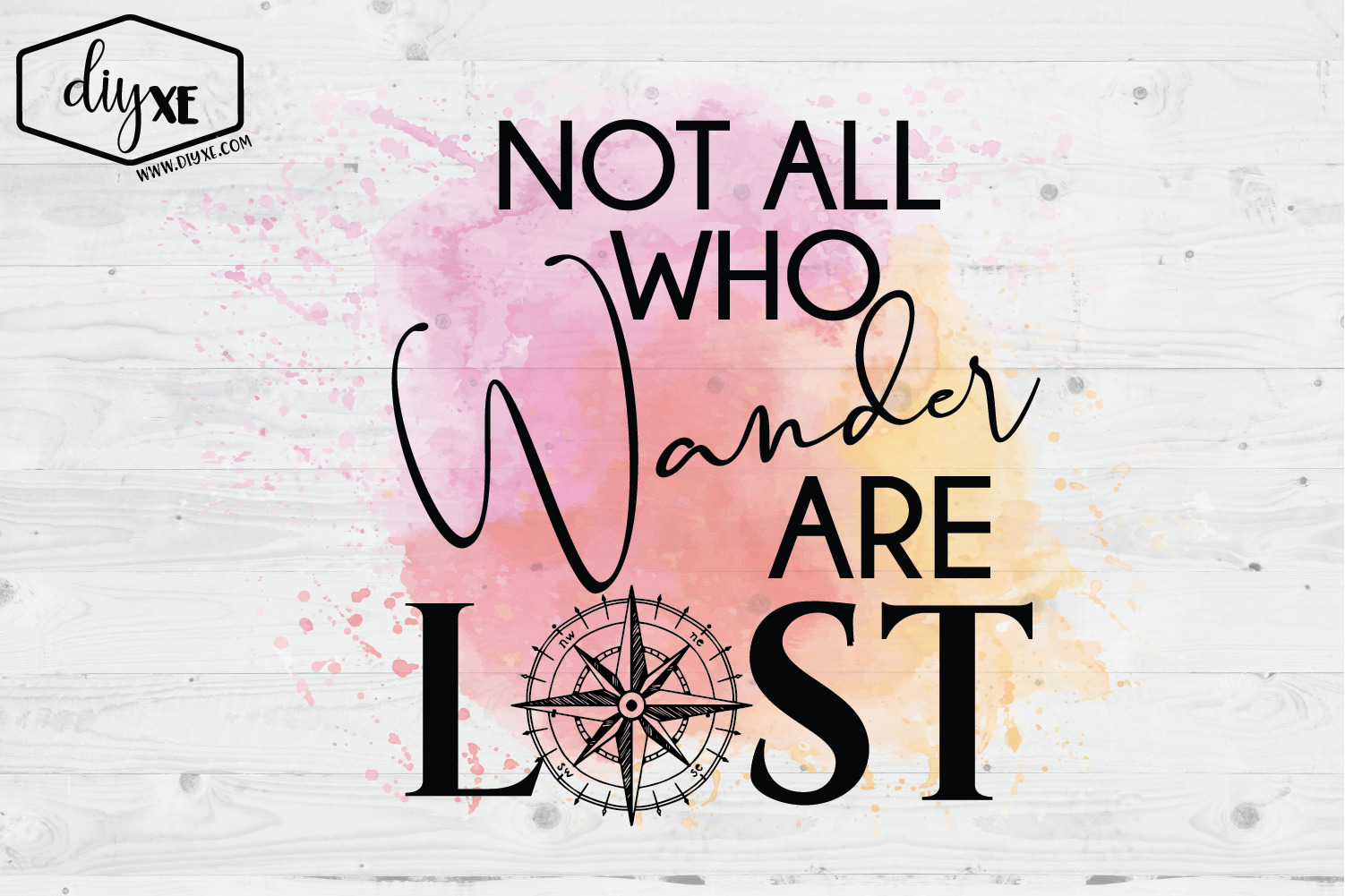 Not All Who Wander Are Lost example image 1