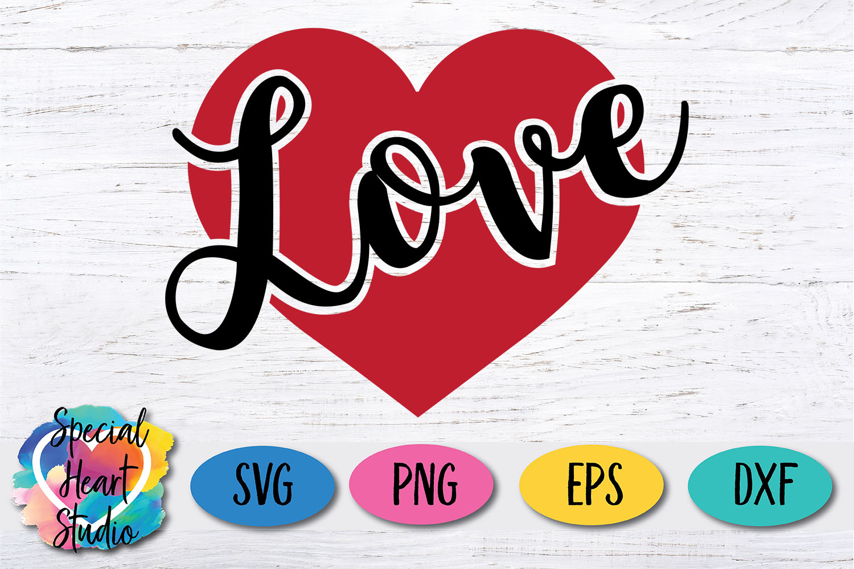 Love SVG - Valentine Heart example image 2