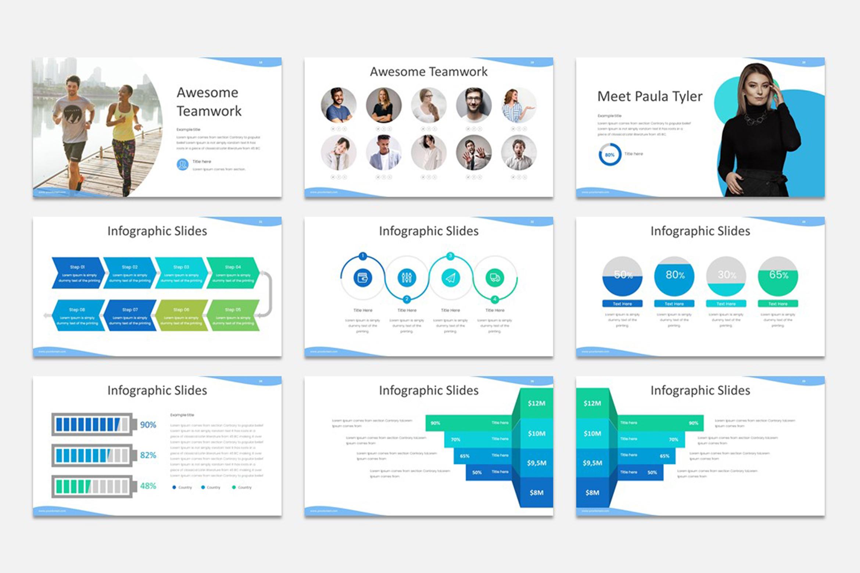 Milde - Multipurpose Powerpoint Presentation Template example image 3