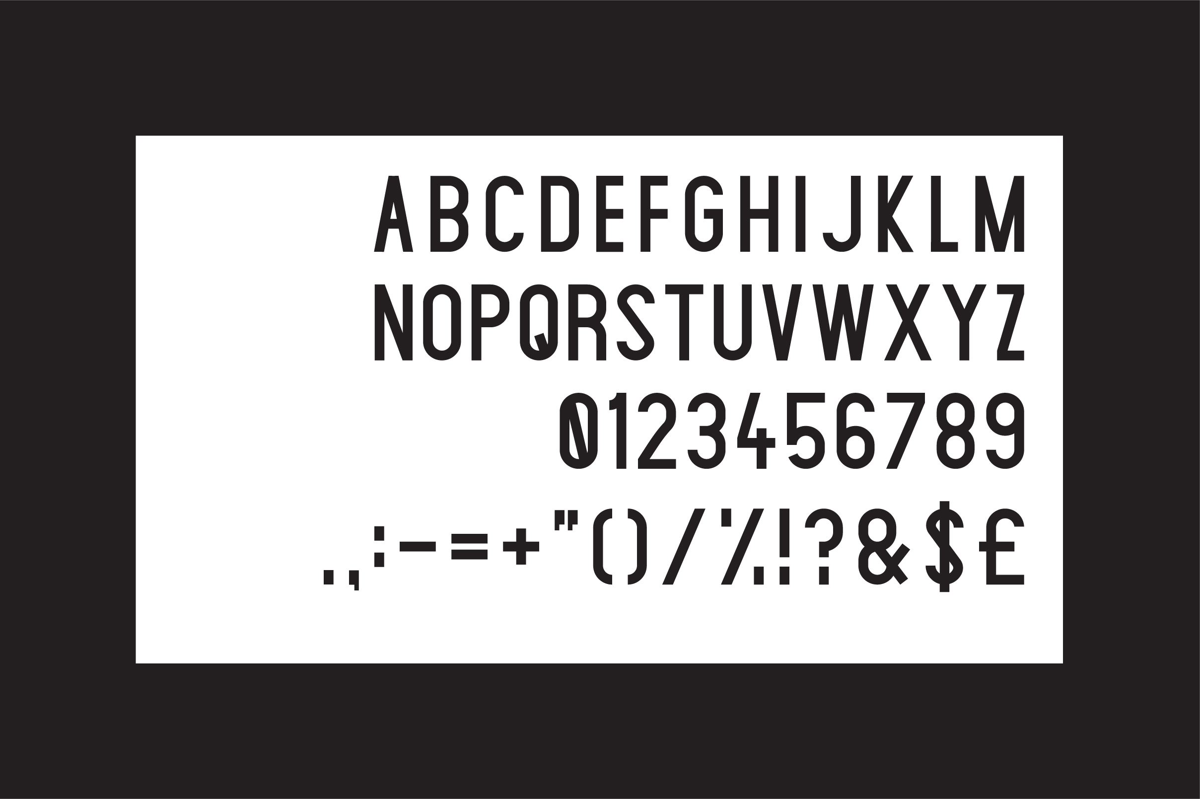 Claxton Typeface example image 6