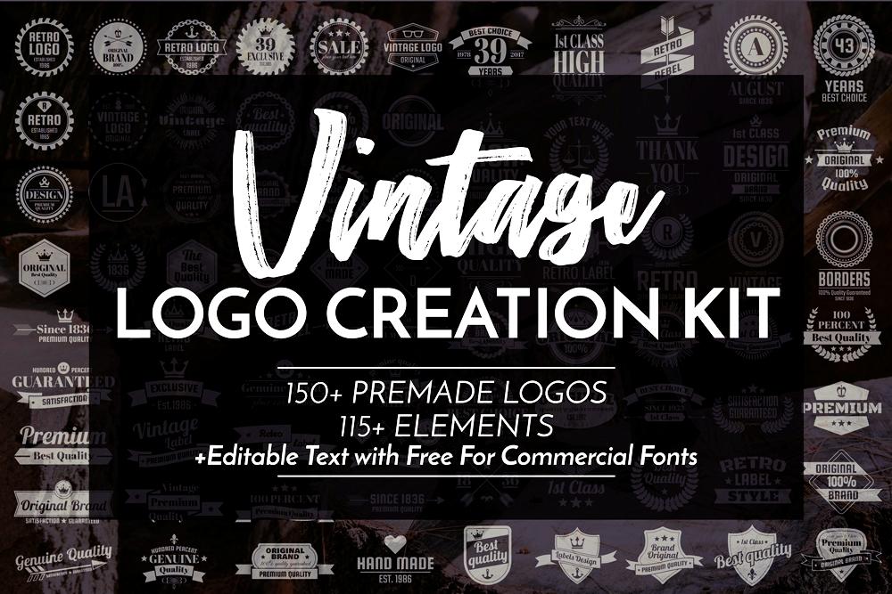 Vintage Logo Creation Kit example image 1