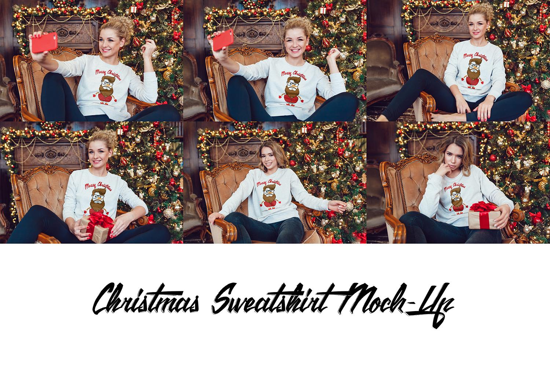Christmas Sweatshirt Mock-Up example image 3