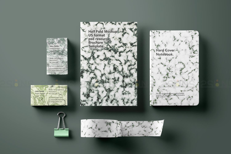 Emerald digital paper, green marble digital paper textures example image 4