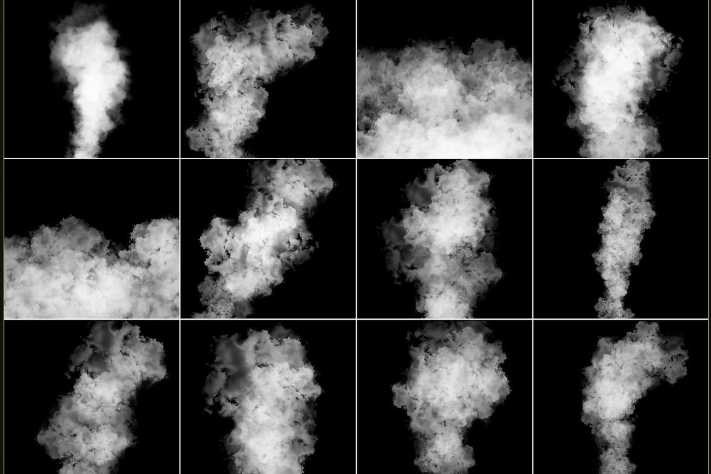100 Cloudy Smoke Overlays example image 9