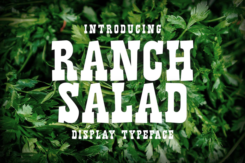 Ranch Salad example 1