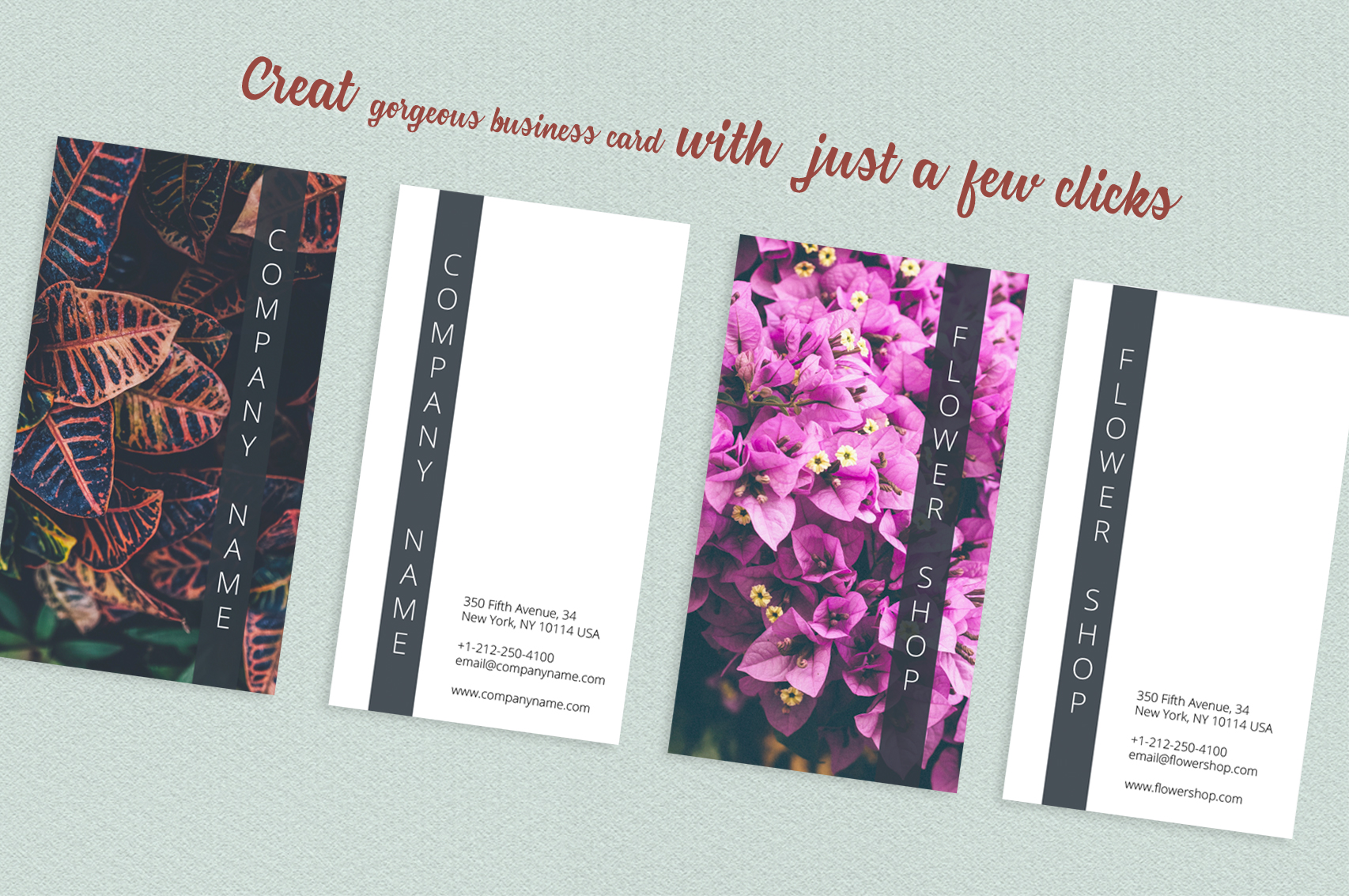 Asian Dream Business Card Template 2 example image 4