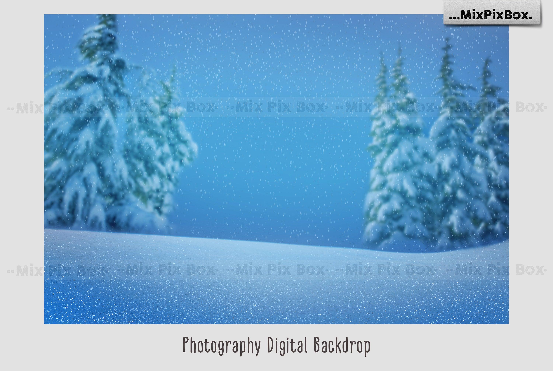 Snow Magic Overlays example image 5