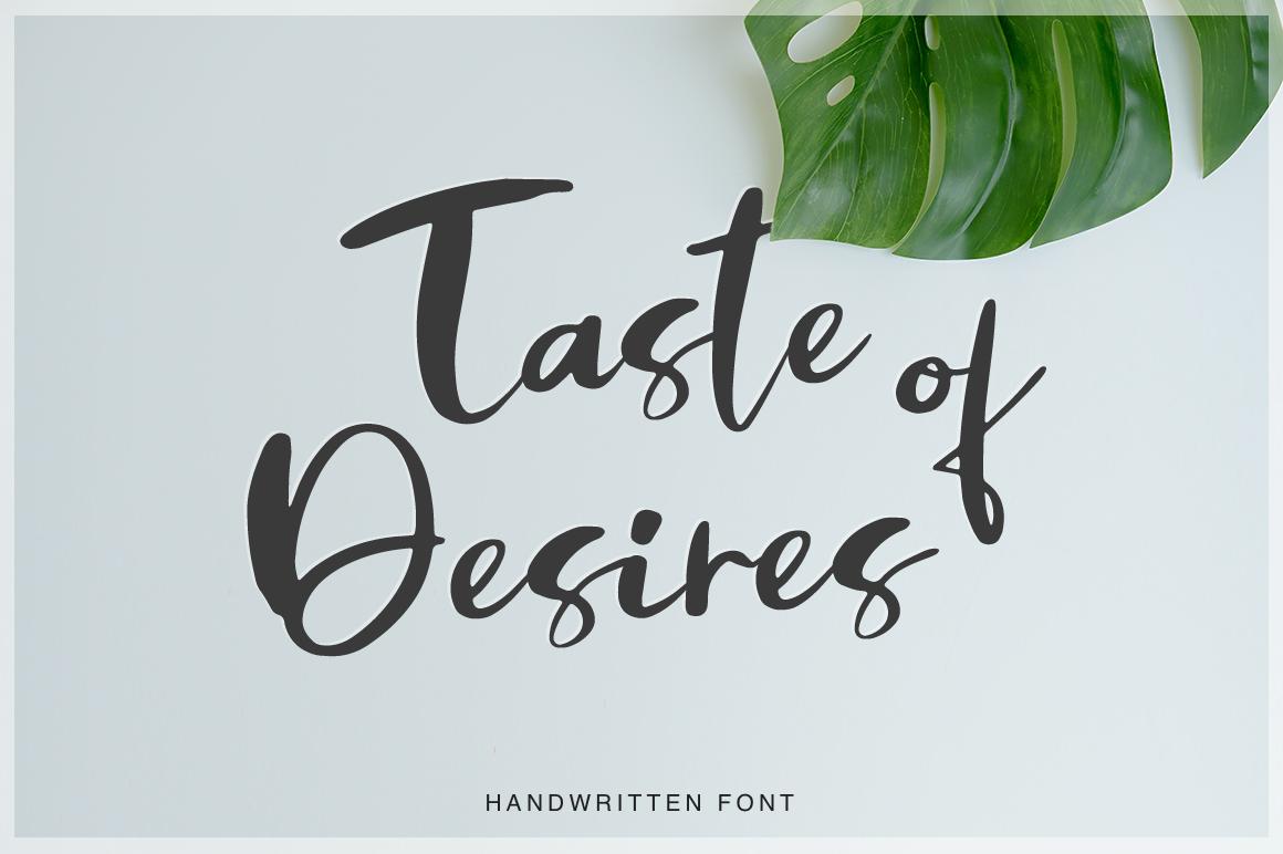 Taste of Desires  example image 1