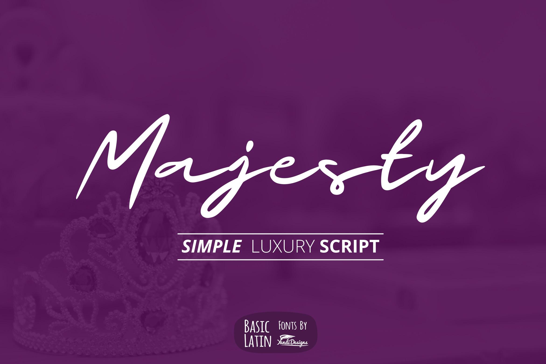 Majesty Luxury Font example image 1