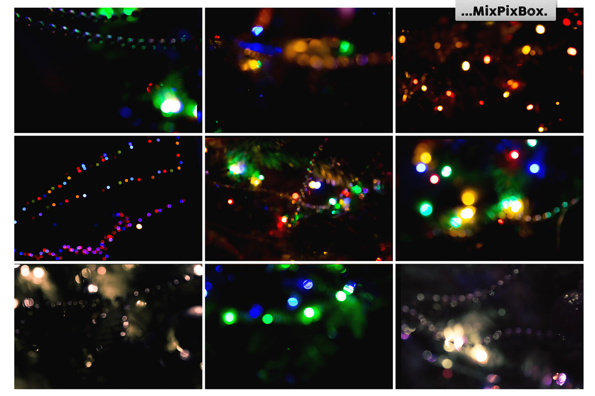 Colorful Bokeh Photo Overlays example image 5