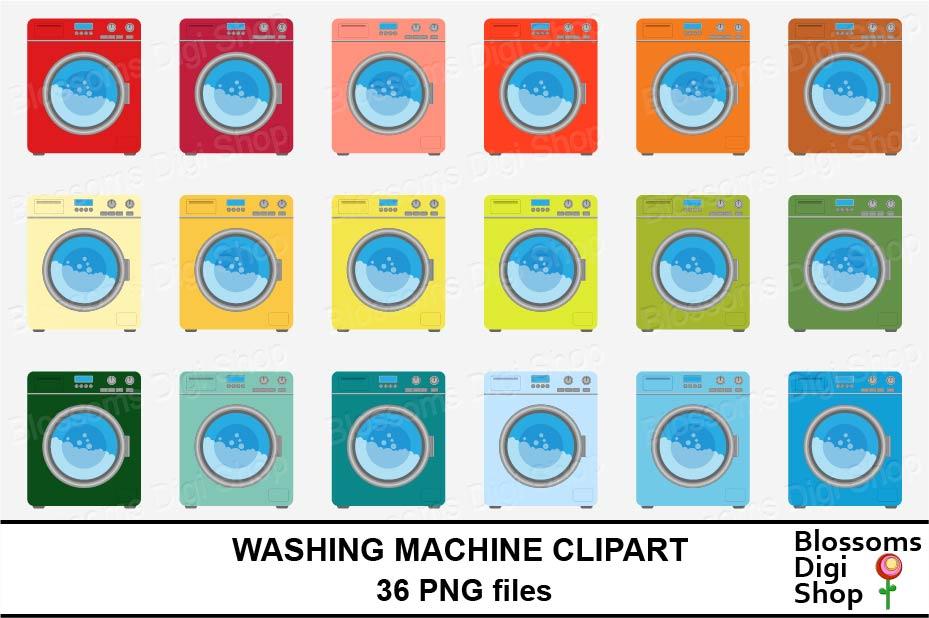 Washing Machine Clipart example image 2